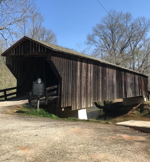 Red Oak Creek Covered Bridge